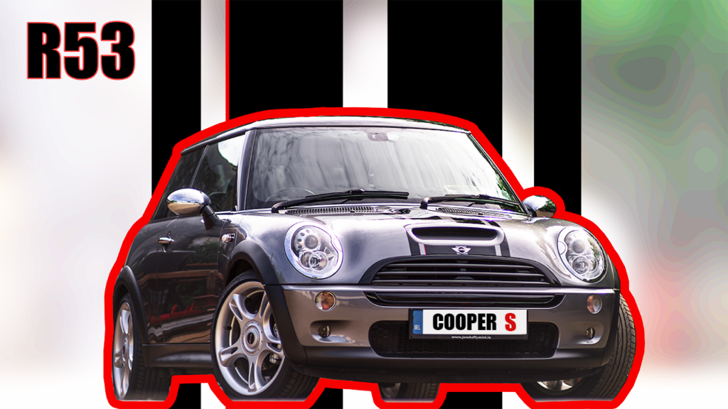 spray painting mini cooper s stripes